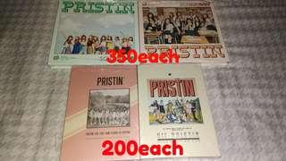 PRISTIN ALBUMS