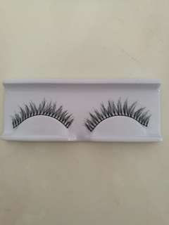 Faux Eyelashes (soft and natural) 17pairs in stock