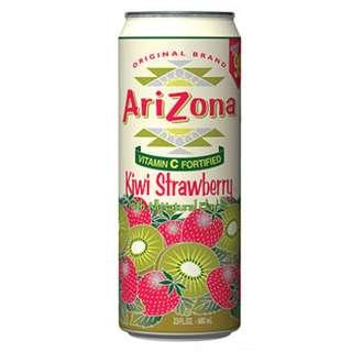 *免運費*ARIZONA 美國奇異果草莓風味茶680ML(24入)/箱賣