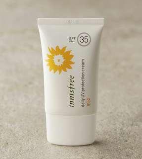 Innisfree sunblock spf 35 mild