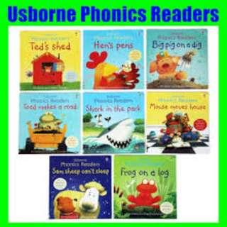 Usborne Phonics Book 8 in 1 Brand New