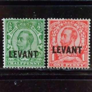 [lapyip1230] 英屬利雲(白鬚版) 1910年 喬治五世 新票全套 Set Mint