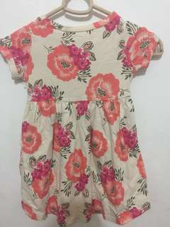 Old Navy Floral Dress 18-24 mos