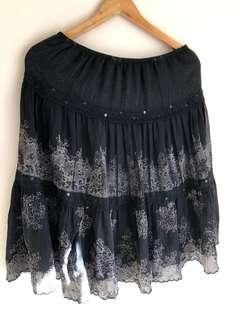 Black Long skirt 12