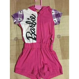Barbie Pink Romper 2T