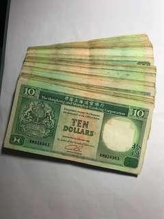 混年份流通品青蟹100張 $1070包掛號