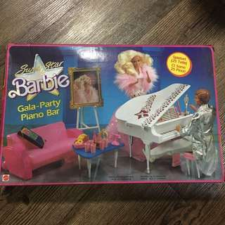 Vintage Barbie Superstar Barbie Piano Concert yr 1988