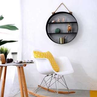 Metal round shelf