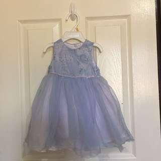 Marmellata Blue Tutu Formal dress