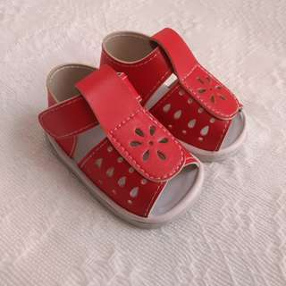 Marikina-made Red Sandals for Babies 👶