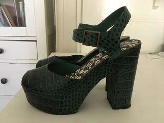 Gorman Crocodile Tears Platform Heels