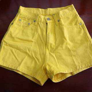 Pre loved high waist shorts