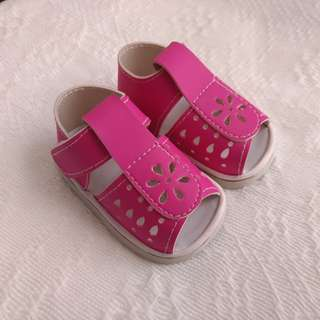 Marikina-made Pink Sandals for Babies
