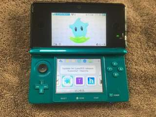 3DS 50 games / luma / hourglass / 32 go / charger / dock / protection