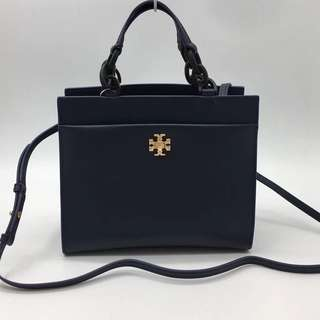 Tory Burch Kira Small tote - navy blue