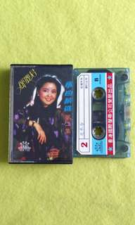鄧麗君TERESA TENG 歌曲精選 第二集(罕見)song selection vol.2 (Rare)Cassette tape not vinyl record