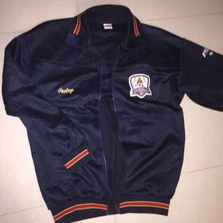 Vintage Chinese Baseball Jacket