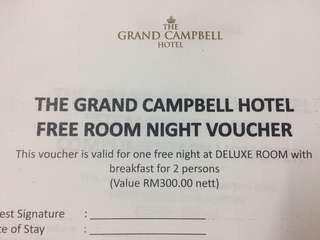 The Grand Campbell Hotel Deluxe Room
