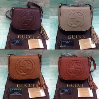 Gucci Flap Leather