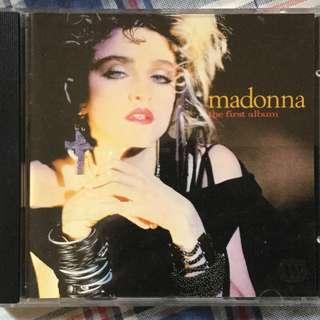 Madonna first album