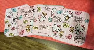 hello kitty baby towels