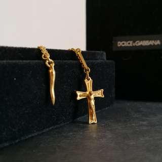 Dolce & Gabbana gold necklace