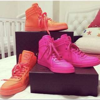 Gucci Retro Neon Pink Sneaker