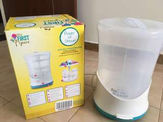 Brand New The First Year Electric steam sterilizer
