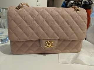 Chanel pink caviar