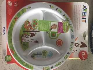 Philips Avent Toddler Mealtime Plate