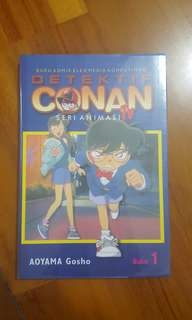 Komik detective Conan seri animasi FULL COLOUR vol 1