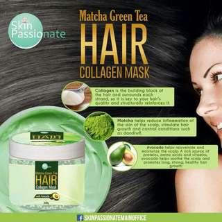 Macha GreenTea Hair Collagen Mask with Avocado