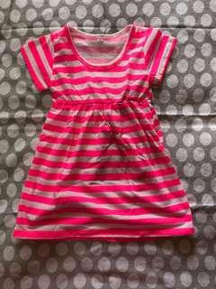 Stripes Girl Dress Size Medium