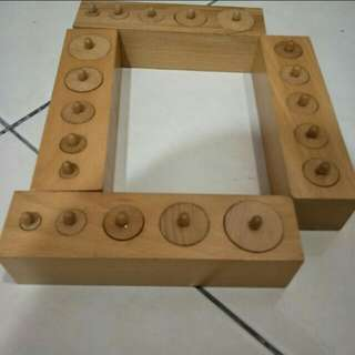 Montessori motor skills finger grip