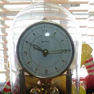 Vintage Germany Bentima 400 days mechanical clock