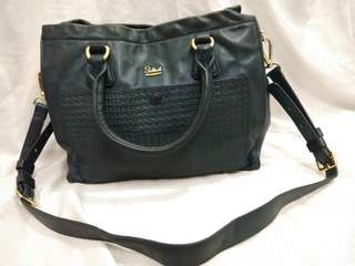 Authentic Salad teal bag