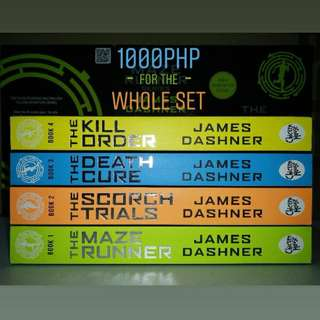 The Maze Runner Series Set and other books