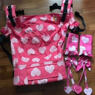 Tula full toddler love Sucre Carrier