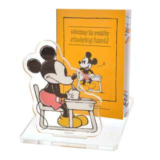 Japan Disneystore Disney Store Mickey Mouse & Friends School Notepad Stand
