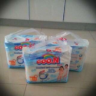 Pampers Goo.N premium pants M32pcs x 3 packs