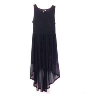 H&m high-low dress