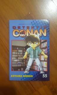 Komik detective conan vol 55