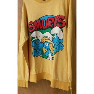 Sweter kuning lucu