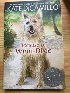 Because of winn-Dixie   Newbury Honor Book