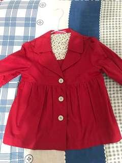 🚚 Red coat