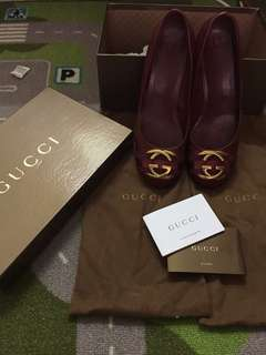 Fast Deal RM350..Gucci pump size 37.5