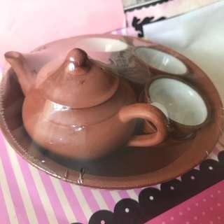 全新功夫茶壺茶杯套裝(購自台灣) $220 可議價
