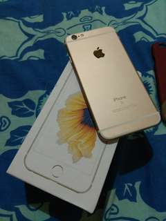 iPhone 6S 16gb gold second