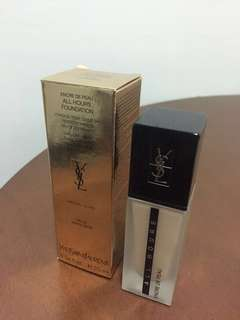 Yves Saint Laurent all hours foundation YSL 粉底液