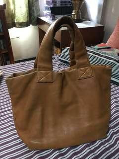 Tan Rabeanco Leather Tote